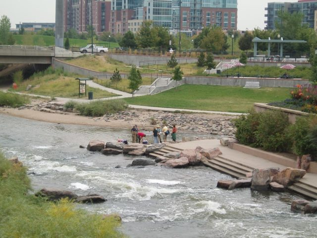 Confluence Park in Denver A Picturein a story about cool things to do in Denver this weekend
